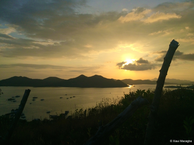 Sunset in Coron (2015) Photo by Xiaui Macagba